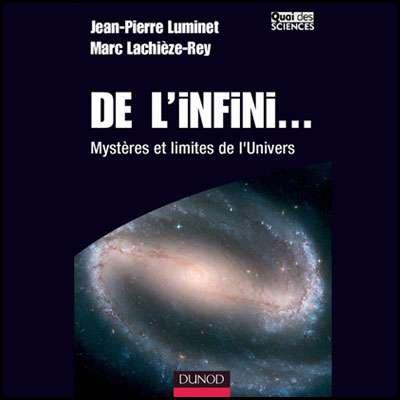 Cliquez pour acheter le livre : De l'infini...