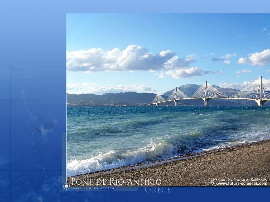 Grèce Pont de Rio Antirio