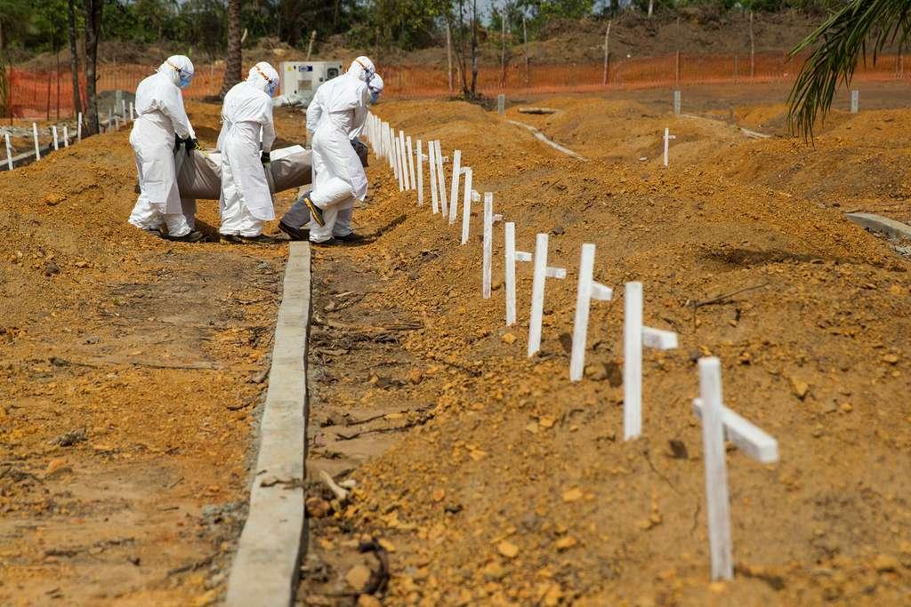 Le virus Ebola a entraîné la mort de milliers de personnes en Afrique de l'Ouest lors de l'épidémie 2014-2016. © UNMEER, Flickr