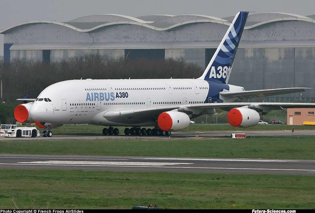 Airbus A380 au sol