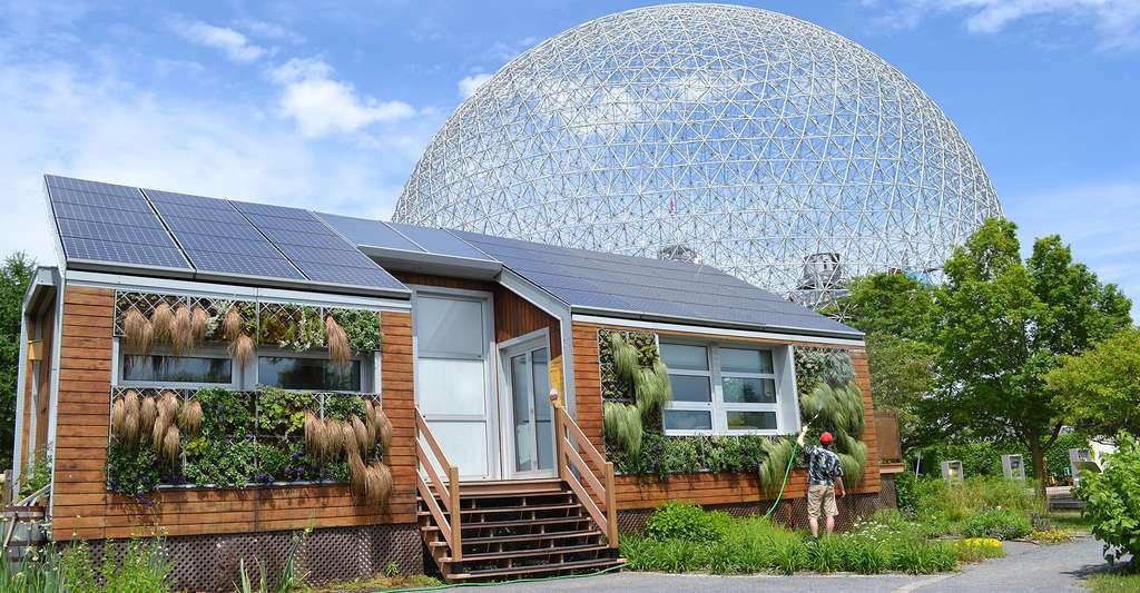Maison solaire écologique à Montréal, au Canada. © Benoit Rochon, CC by-nc 3.0