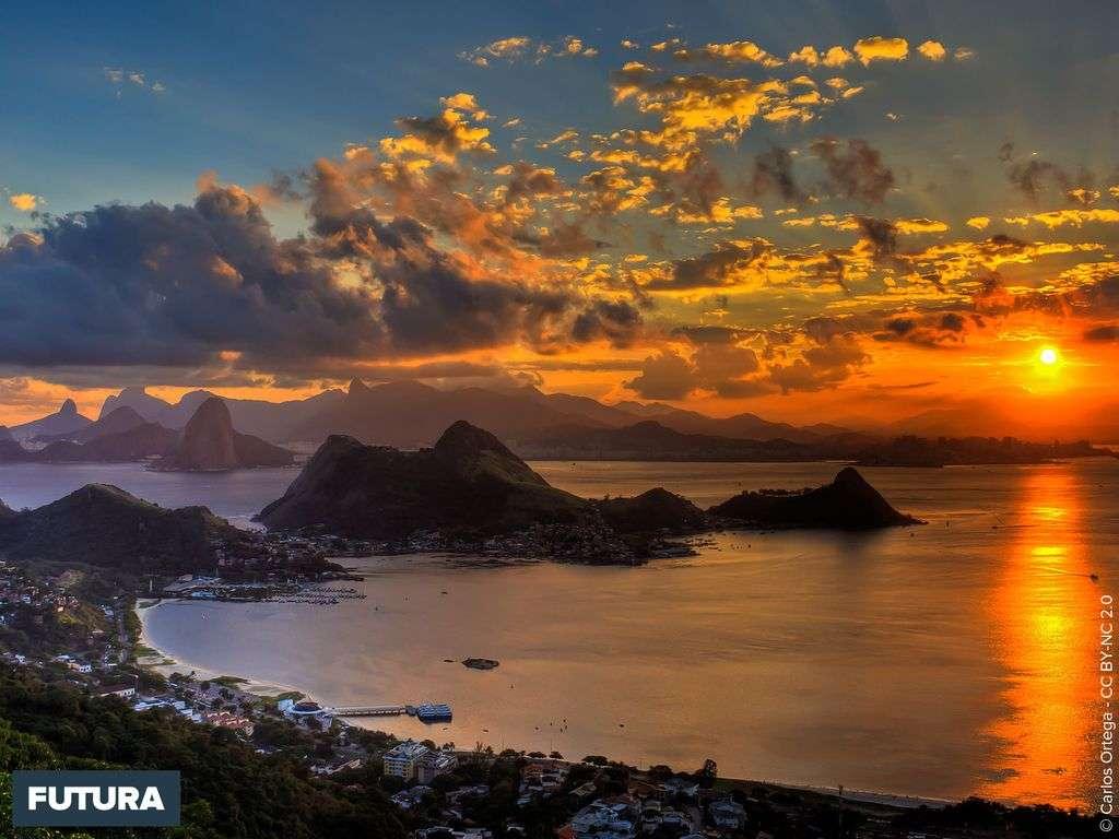 Coucher de soleil Rio de Janeiro