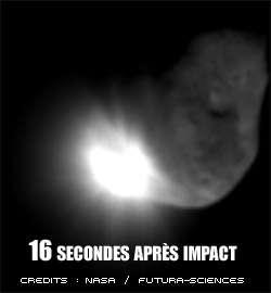 Photo Deep Impact - Impact !