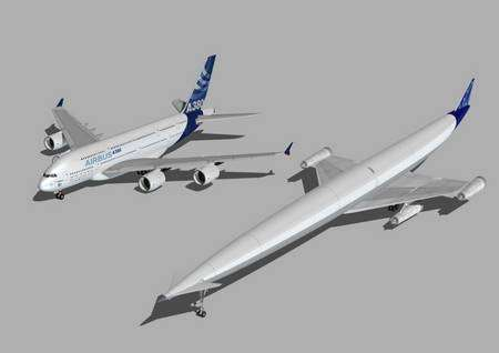 Deux fois plus long qu'un A380... © Reaction Engines