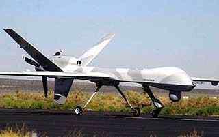 Le VOC pourrait être semblable au drone predator de l'armée américaine. Crédits : www.geostrategy-direct.com