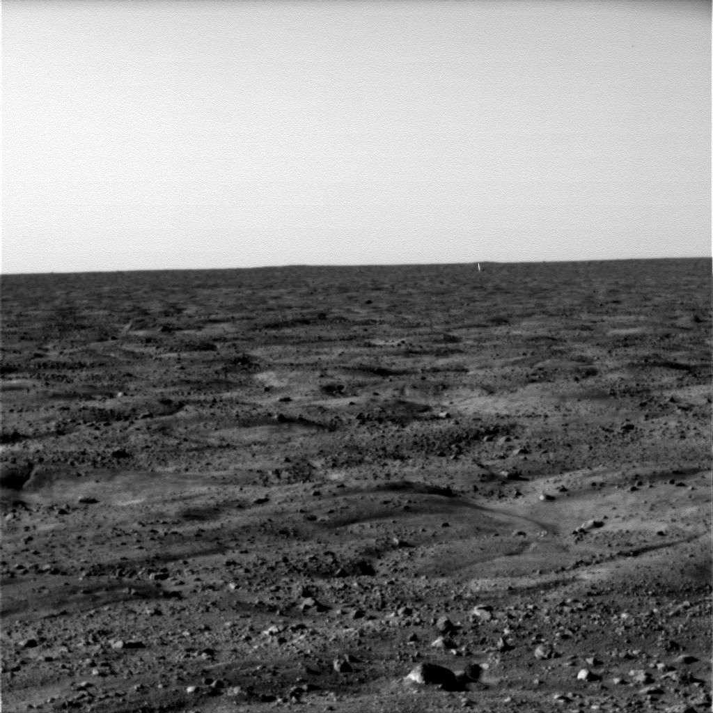 L'horizon martien