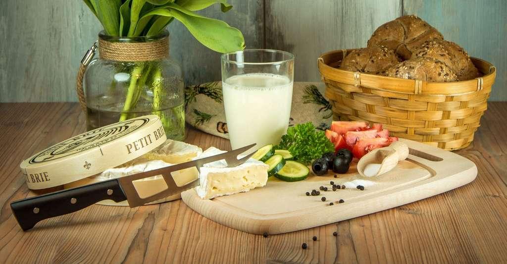 Du fromage et du lait cru. © LubosHouska, DP
