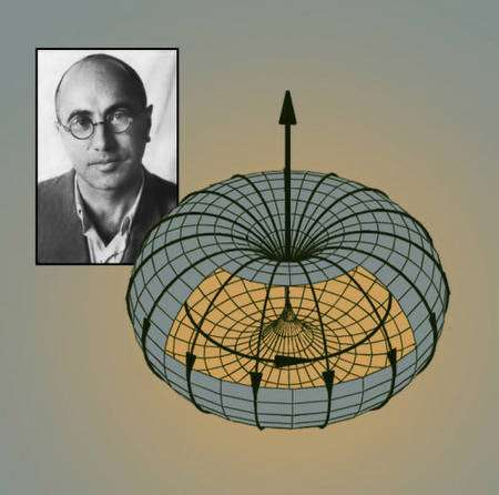 Selon Zel'dovich, des courants de nucléons similaires aux courants d'électrons dans un tokamak se produisent dans certains noyaux, du fait des forces nucléaires faibles. Crédit : Lawrence Berkeley National Laboratory