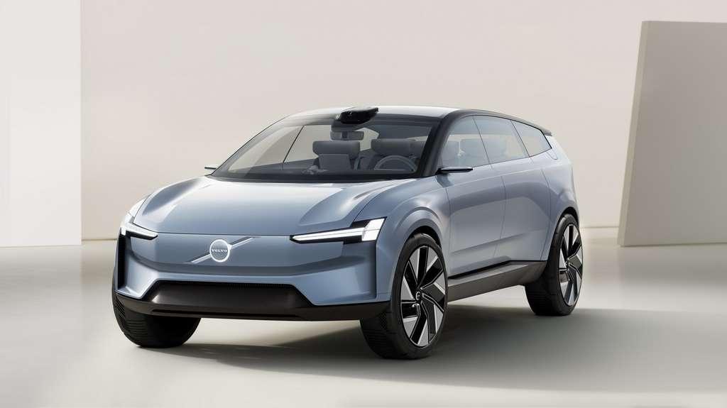 Le Volvo Concept Recharge qui préfigure la future version électrique du XC90. © Volvo Cars