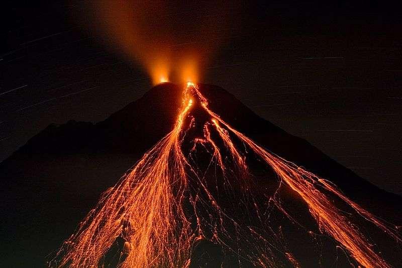 Les trapps de Sibérie révèlent les traces d'un supervolcanisme à l'époque de cette terrible crise biologique. © Matthew G. Landry, Wikipédia, cc by sa 2.5