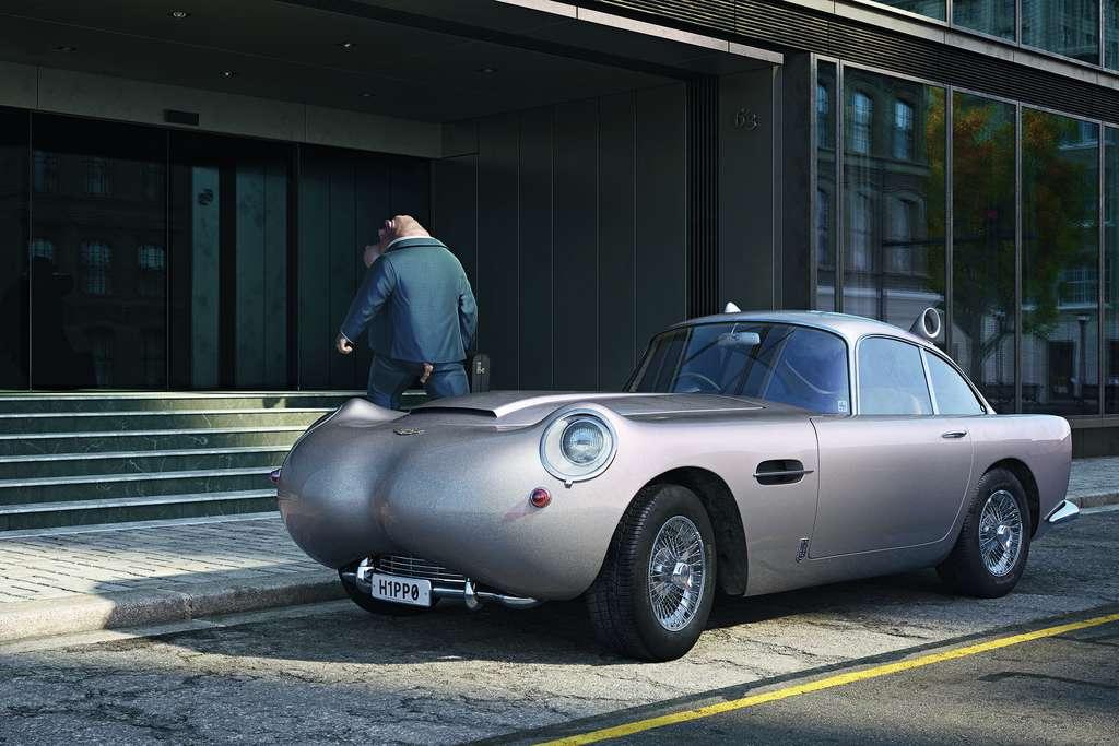 Aston Martin : monsieur H1PP0 se joue de la jungle urbaine