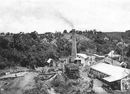 Ancienne sucrerie de la Réunion.
