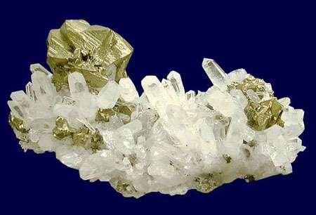 Chalcopyrite www.fabreminerals.com - Fabre Minerals photo