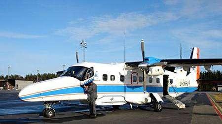 Un Dornier-228 utilisé par la DLR pour emporter le radar à synthèse d'ouverture. Crédit Cesbio