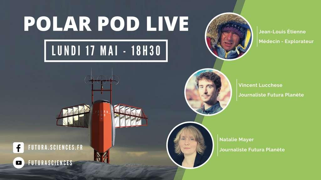 Jean-Louis Étienne sera en direct sur Futura, ce lundi 17 mai 2021, pour nous parler de son expédition Polar Pod. Un rendez-vous à ne pas manquer. © Futura