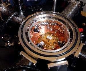 Un transistor refroidi à - 270 degrés Celsius a atteint la fréquence record de 500 GHz (Crédits : IBM)