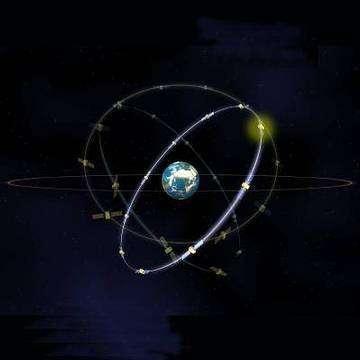 Le système de navigation par satellite européen Galileo Il devrait être opérationnel en 2008 (Crédits : ESA)
