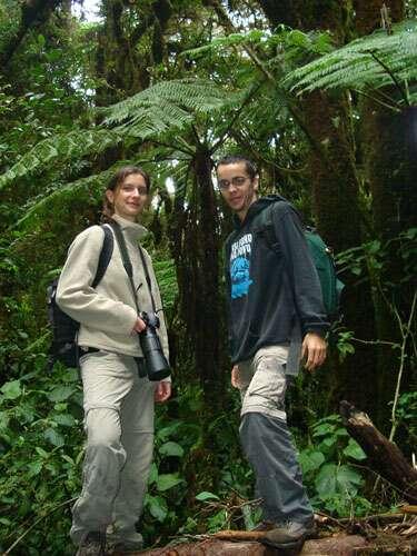 Sylvain Lefebvre et Marie-Anne Bertin, de l'association Exode tropical. © Sylvain Lefebvre et Marie-Anne Bertin, DR