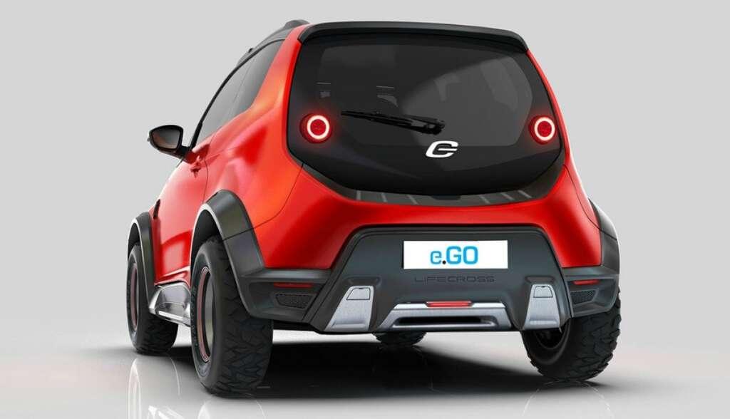 Le e.GO Life Concept Cross se veut être un véhicule utilitaire propre et urbain. © e.GO Mobile AG