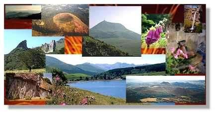 L'Auvergne volcanique résumée en quelques images (© LVA)