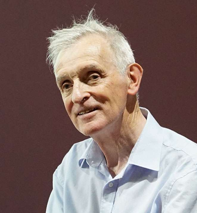 Jean Jouzel en conférence à Reims en 2019. © G. Garitan, Wikimedia Commons, CC 4.0