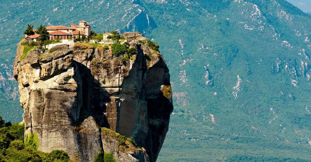 Découvrez la Grèce. Ici, le monastère Aghia Triada. © Danel Solabarrieta, CC by-nc 2.0