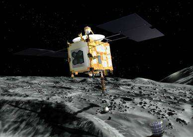 L'Agence Spatiale Japonaise a-t-elle renoué le contact avec sa sonde Hayabusa ? (Crédits : JAXA)