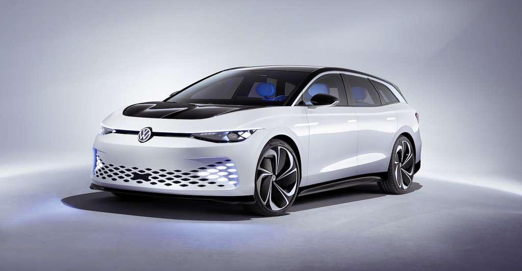 Le septième concept car de la famille ID. révélé à la veille du Salon de Los Angeles. © Volkswagen