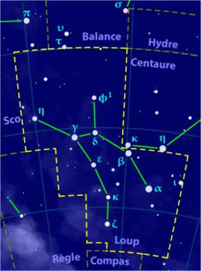 Constellation du Loup.