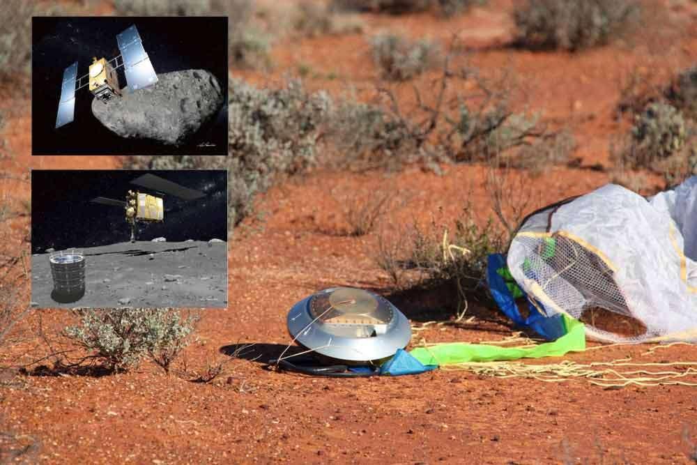 Hayabusa-2 pourrait être lancée en 2014 vers l'astéroïde 1999 JU3 avec pour objectif de rapporter sur Terre quelques échantillons des molècules qu'il abrite. © Jaxa