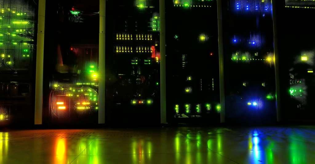 Data center. © Kewl, Domaine public