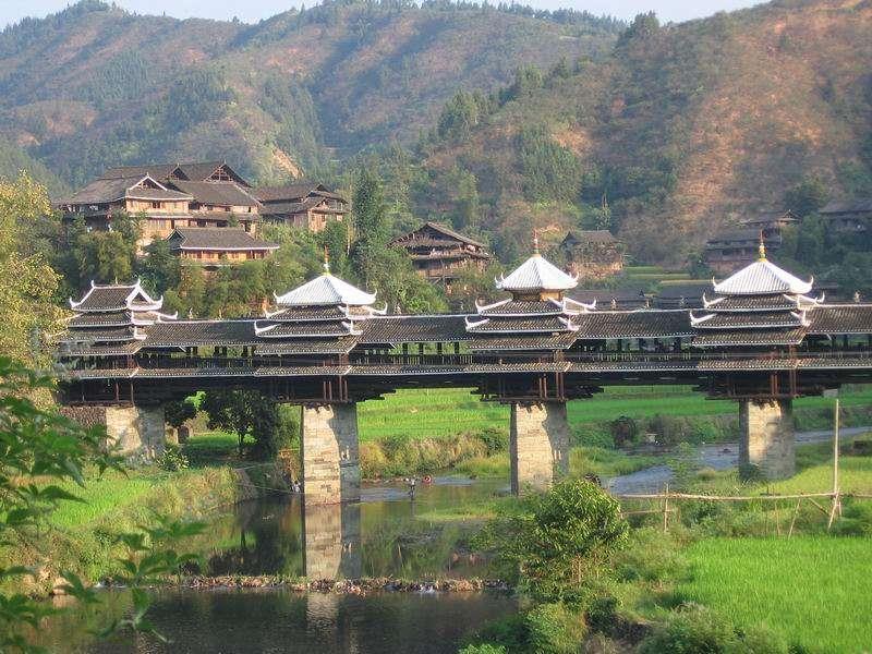 Le pont de Chéng Yáng, pont du vent et de la pluie