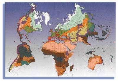 Réseau international des réserves de biosphère - copyright Unesco