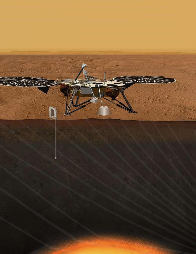 Malgré le nombre impressionnant de sondes envoyées autour de Mars et de rovers gambadant sur sa surface, certains aspects de la structure interne restent encore énigmatiques. © Nasa/JPL-Caltech