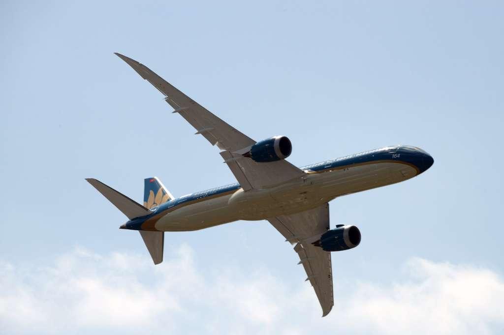 Le Boeing 787 Dreamliner, l'avion de ligne qui décolle (presque) à la verticale !