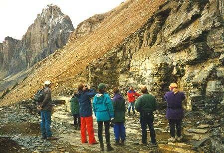 Le site du Burgess découvert par Walcott. Cliquez pour agrandir. Crédit : Burgess foundation