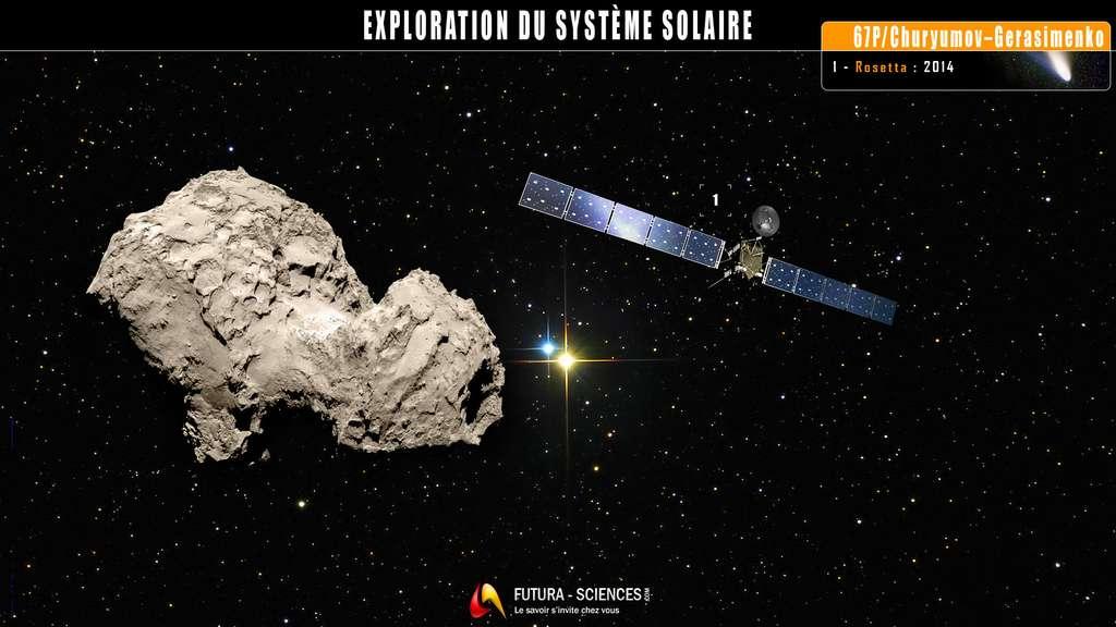 La comète Tchouri sous l'œil de Rosetta