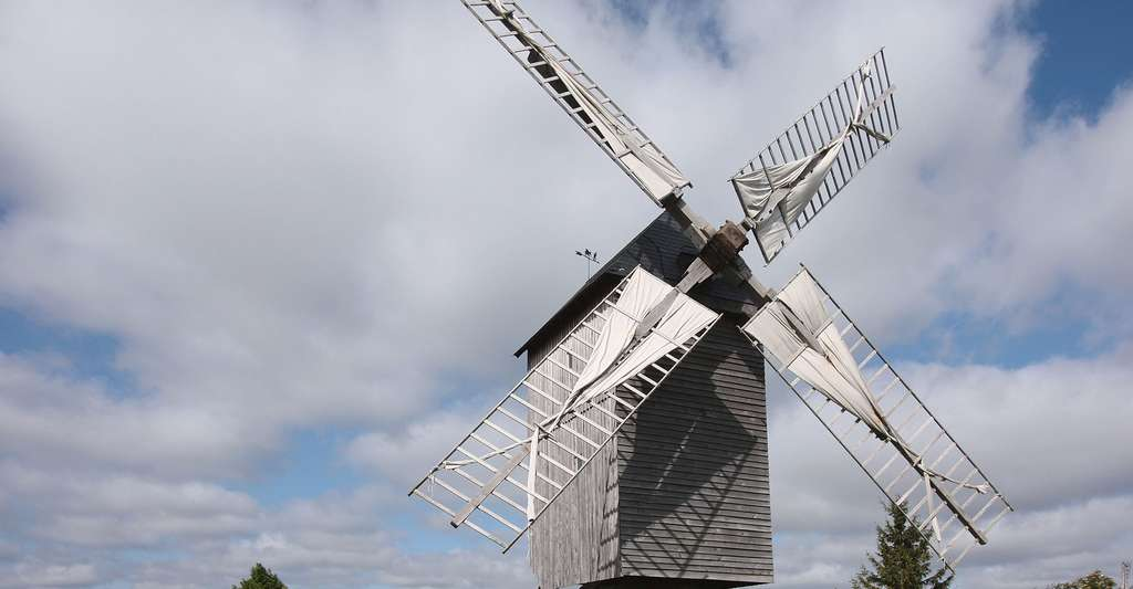 Moulin à vent. © Manfred Heyde, Wikimedia commons, DP