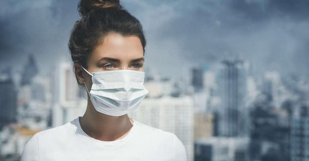 En 2100, la pollution de l'air est responsable de la mort prématurée de dizaines de millions de personnes dans le monde. © blackday, Adobe Stock