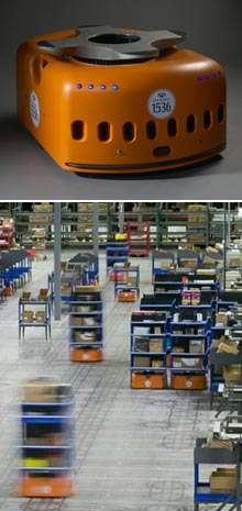 L'organisation scientifique du travail par des robots mobiles...