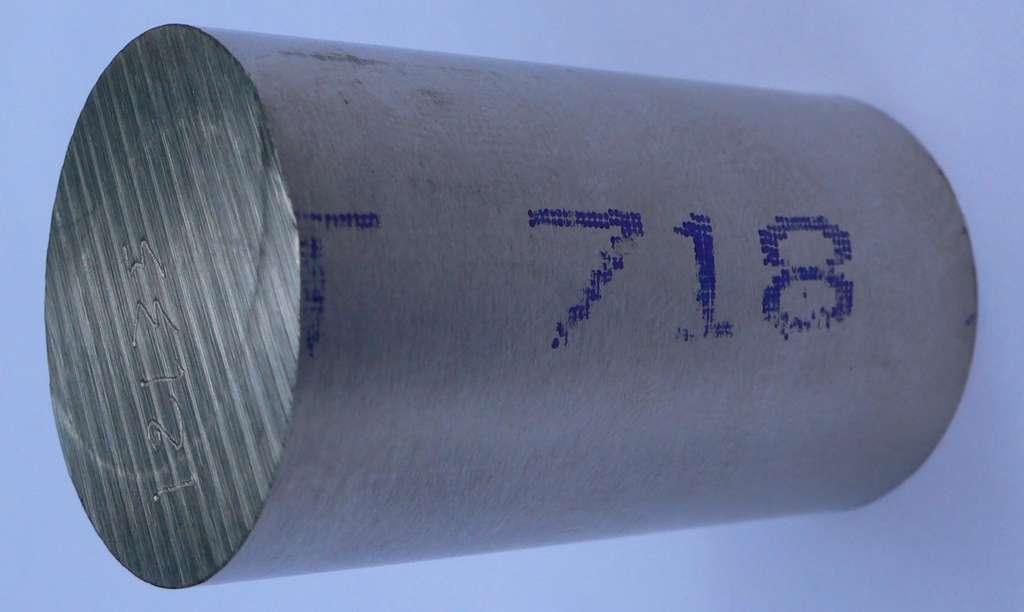 Un échantillon d'Inconel 718. © Ascaron, Wikipedia, CC by-SA 3.0