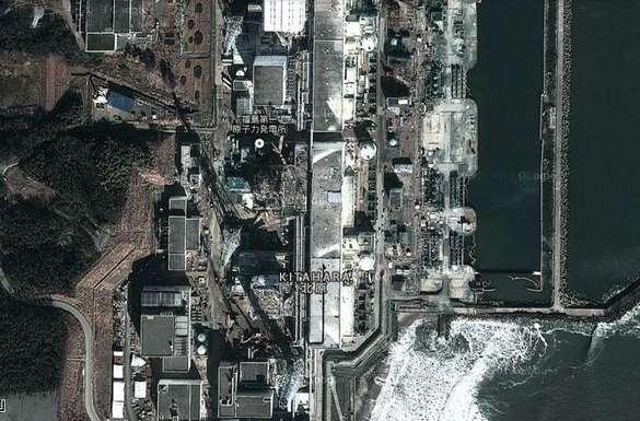 La centrale de Fukushima Daiichi vue par les satellites de Google Earth. Les autorités japonaises intensifient le suivi médical des habitants de la zone pour mieux évaluer les retombées. © Google Earth