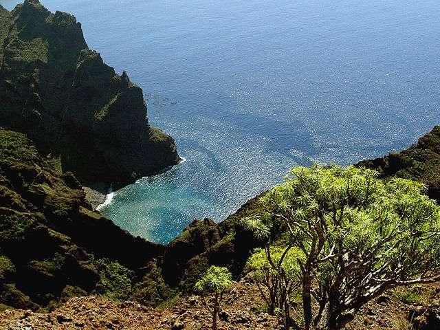 Baie près de Masca, sur l'île de Tenerife, aux Canaries. © Jens Steckert CC, by-sa 3.0