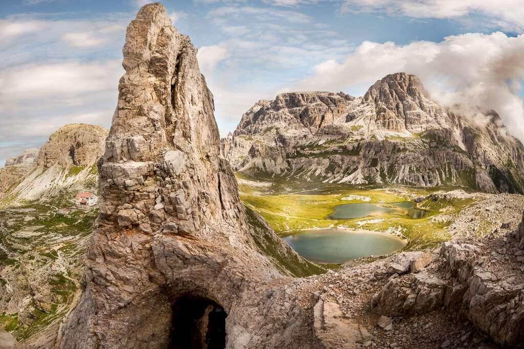 Les Dolomites : le mont Paterno, un lieu chargé d'histoire