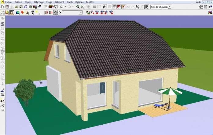 Pour réaliser les plans d'une maison 3D, de nombreux paramètres doivent être déterminés : nombre de pièces, orientation, maison de plain-pied ou à étage... © Architecte 3D