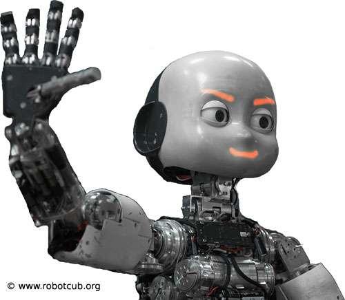 iCub, robot humanoïde européen du projet RobotCub. © robotclub.com