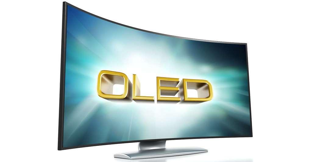 Technique OLED. © Cigdem, Shutterstock