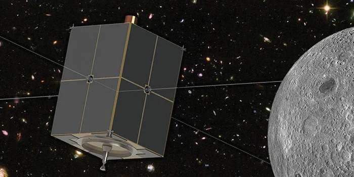 La mission Dapper, destinée à rejoindre l'orbite lunaire. © Nasa, Université du Colorado