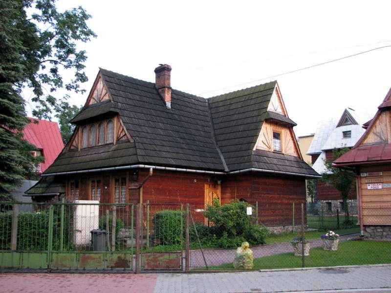 Maison polonaise avec jardin