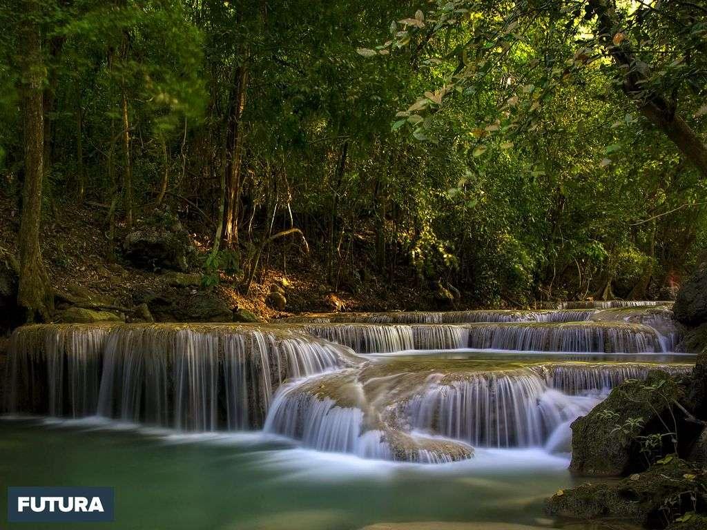 Cascade Silky Erawan - Thaïlande